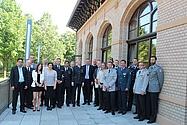 Mediathek THW OV Quedlinburg - Feierliche Würdigung von Teilnehmern an Friedenseinsätzen
