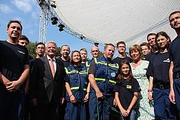 Mediathek THW OV Quedlinburg - Bürgerfest beim Bundespräsidenten